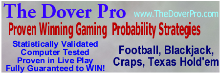 DoverPro betting systems craps blackjack football poker